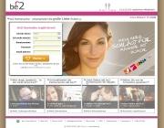 Gestaltung & Aussehen der Webseite von Be2.de 2012