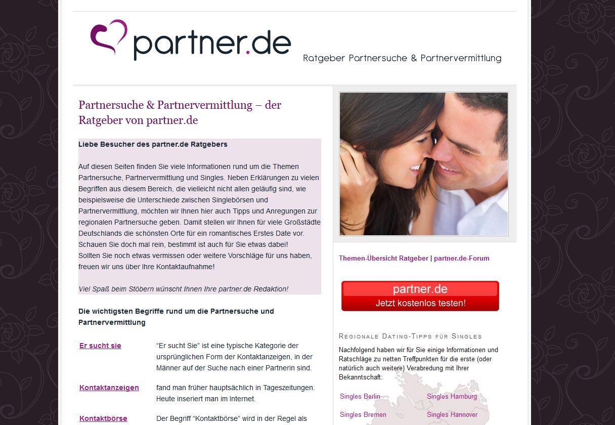 Kostenlose partnersuche im test