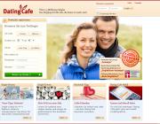Gestaltung & Aussehen der Webseite von DatingCafe 2013