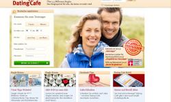 Gestaltung & Aussehen der Webseite von DatingCafe.de 2013