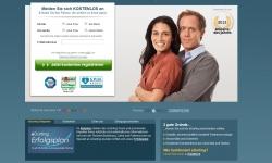 Gestaltung & Aussehen der Webseite von eDarling 2012