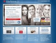 Gestaltung & Aussehen der Webseite von ElitePartner 2012