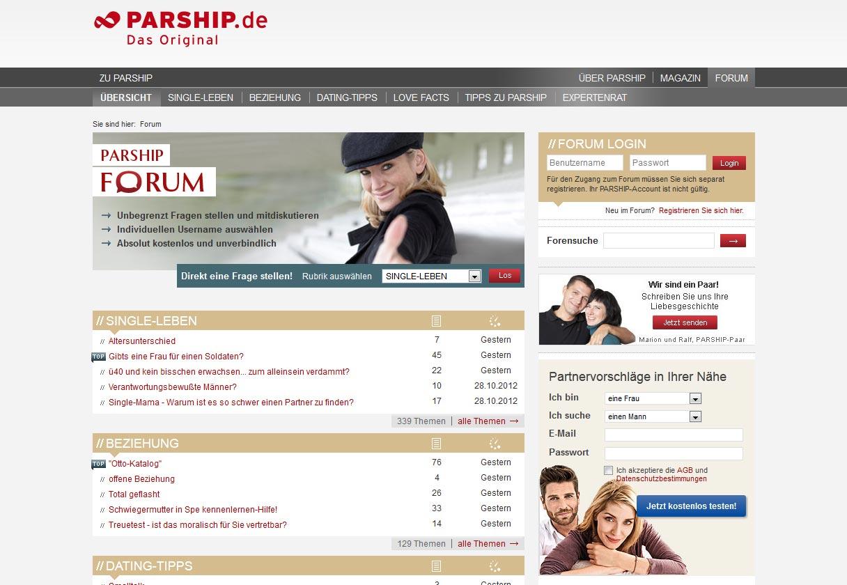 Kostenlos partnersuche ohne anmeldung