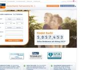Gestaltung & Aussehen der Webseite von Friendscout 2013