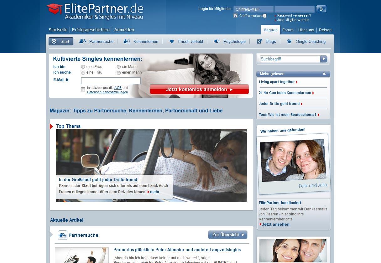 Elite Singles Kundenservice E-Mail