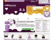 Gestaltung & Aussehen der Webseite von Mollipartner 2013