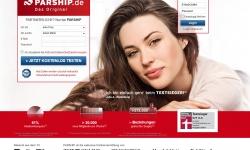 Gestaltung & Aussehen der Webseite von Parship 2012