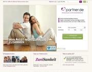 Gestaltung & Aussehen der Webseite von Partner.de 2012