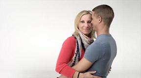 Echte Menschen. Echte Liebe. Nur bei eDarling! (2011 Apr.) mit Melanie & Sascha